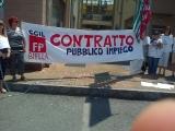 2014-06-12 - Presidio dei Lavoratori CISSABO a Cossato (BI)