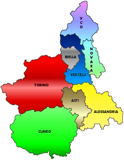 Cartina Piemonte Torino.Dove Siamo Funzione Pubblica Cgil Piemonte