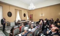 Delegazione ricevuta in consiglio regionale